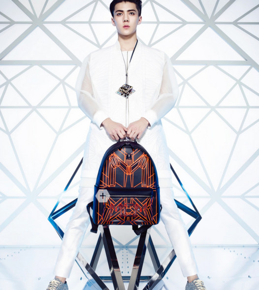 MCM, EXO, Accessories, 韓國時裝, Korean Fashion, Ktrend