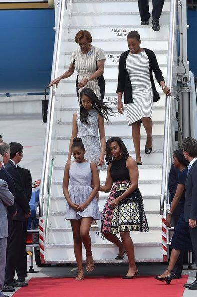 Michelle Obama, Malia Obama, Fashion, 時裝