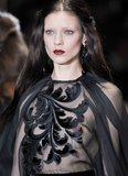 米蘭時裝周:Gucci 黑色浪漫