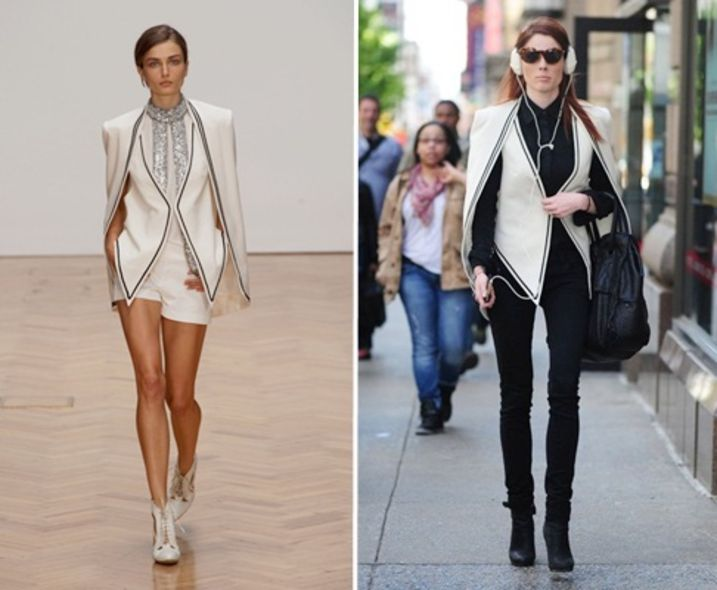 Runway to Real-way:Coco Rocha 造型更突出
