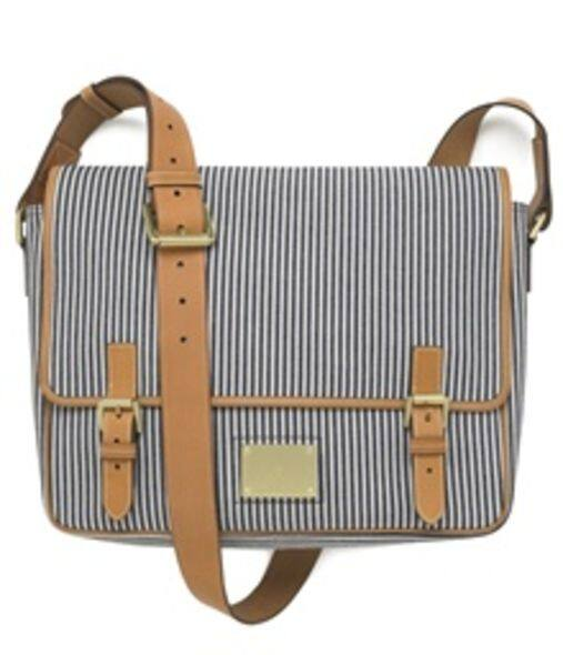 Mulberry Meygan in denim ticking