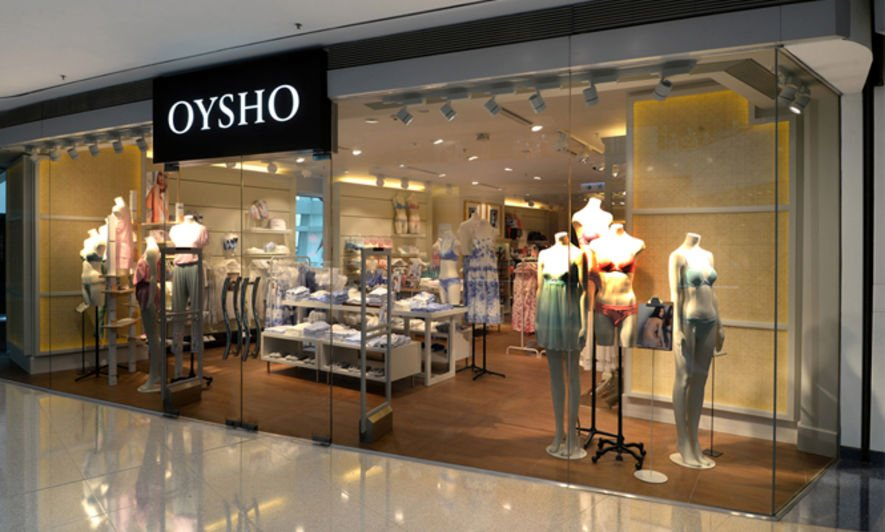 Oysho, new shop, zara, HK