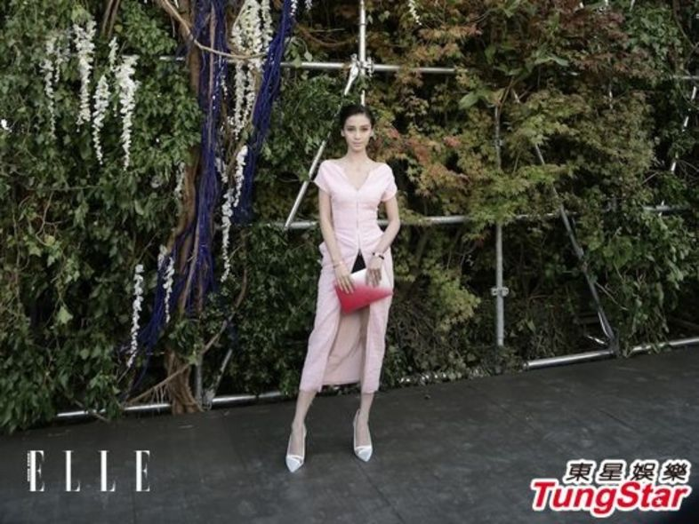 Angelababy, Paris Fashion Week, Christian Dior