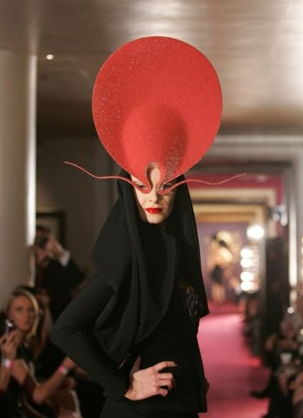 Shocking Pink Roswell Hat Philip Treacy