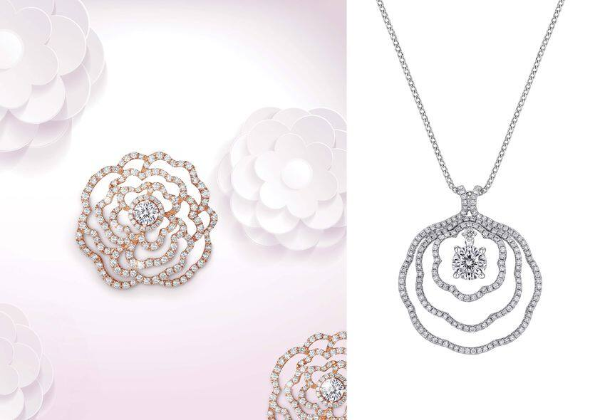 Prince Jewellery,Peonia Diamond,母親節,禮物
