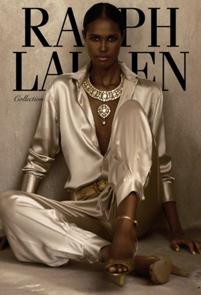 Ralph Lauren fashion runway trend Ubah Hassan super model