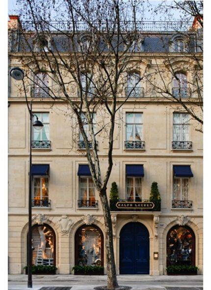 Ralph Lauren flagship store at Boulevard Saint Germain