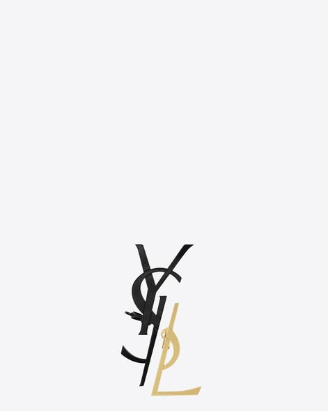 Saint Laurent, Monogram Earring, 2017春夏系列