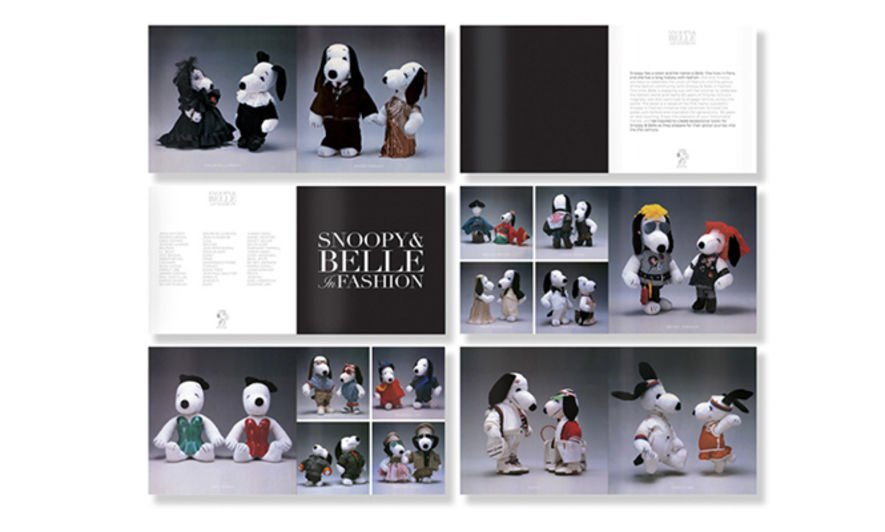 《Snoopy & Belle in Fashion》紀念相集