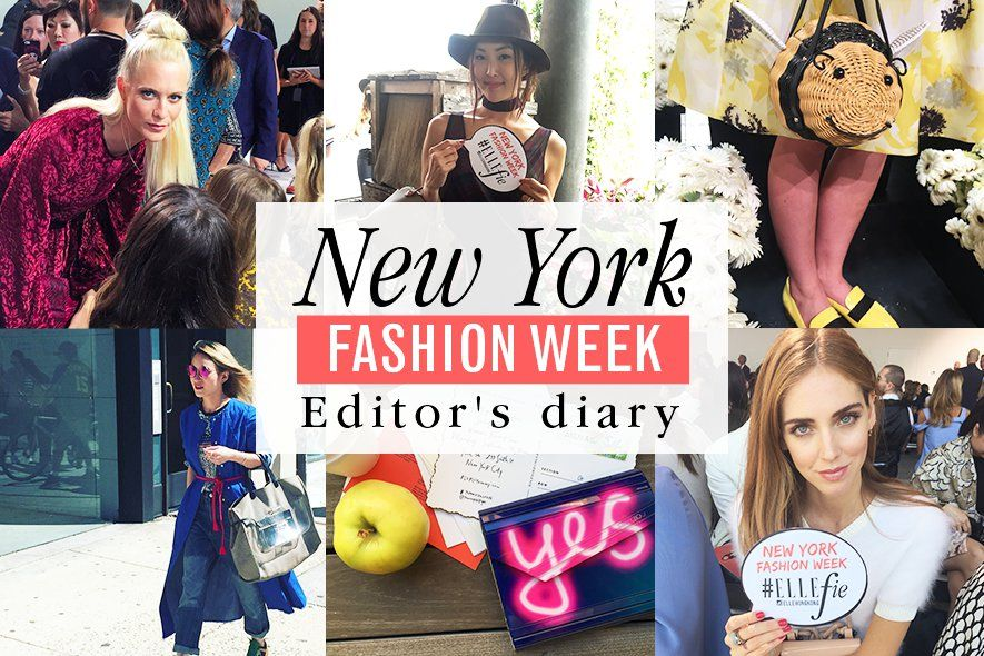 ELLEfie, 時裝周, Fashion week, SS16