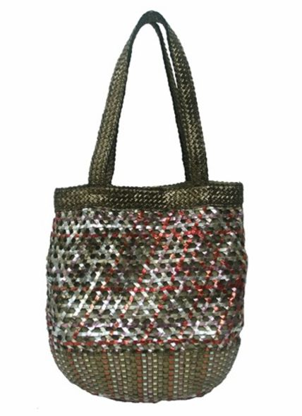 Terrazzo Rattan fashion accessories