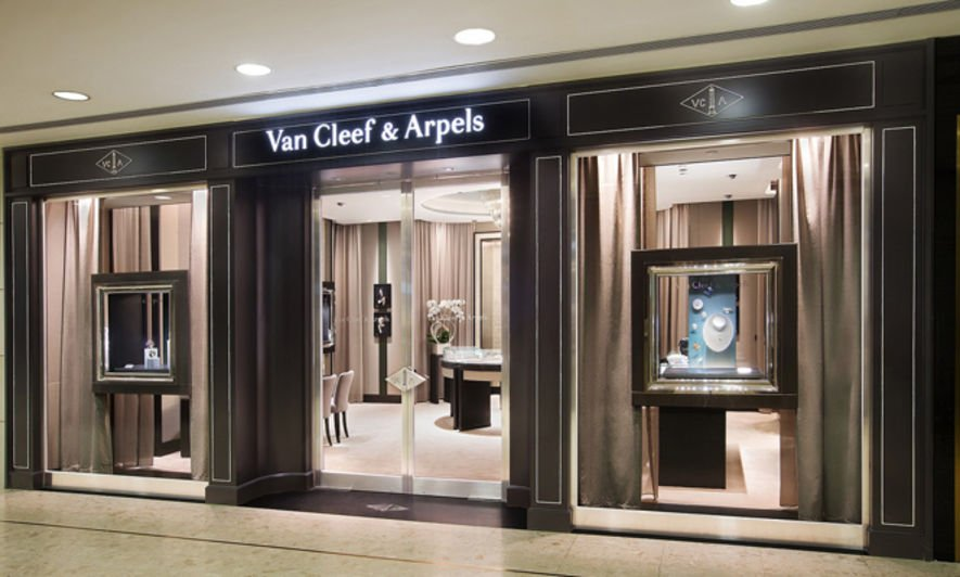 Van Cleef & Arpels, Ocean Terminal, 海運大廈, hong kong shop