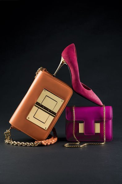 Tom Ford, shoes and bags, Natalia, Sienna, Miranda
