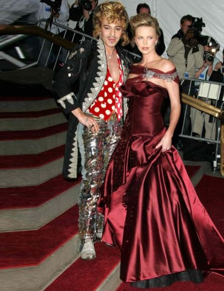John Galliano, Charlize Theron