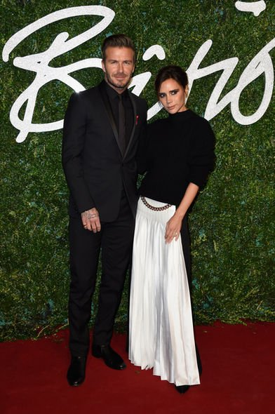 Victoria Beckham, David Beckham, British Fashion Awards, 時裝