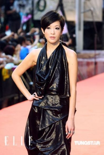 Vivienne Westwood red label red carpet Golden Melody Awards