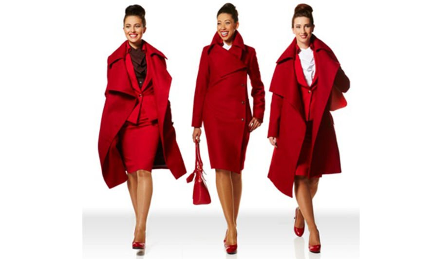 Vivienne Westwood Uniform Rebrand for Virgin Atlantic