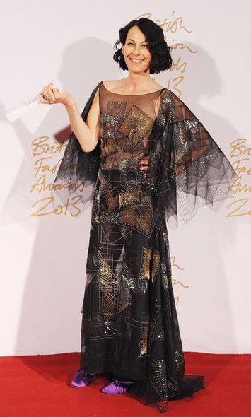 時尚創意獎(Isabella Blow Award for Fashion Creator)﹕Lady Amanda Harlech