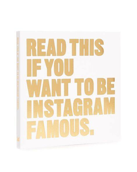Books with Style「Read This If You Want to Be Instagram Famous」書,約HKD$102。
