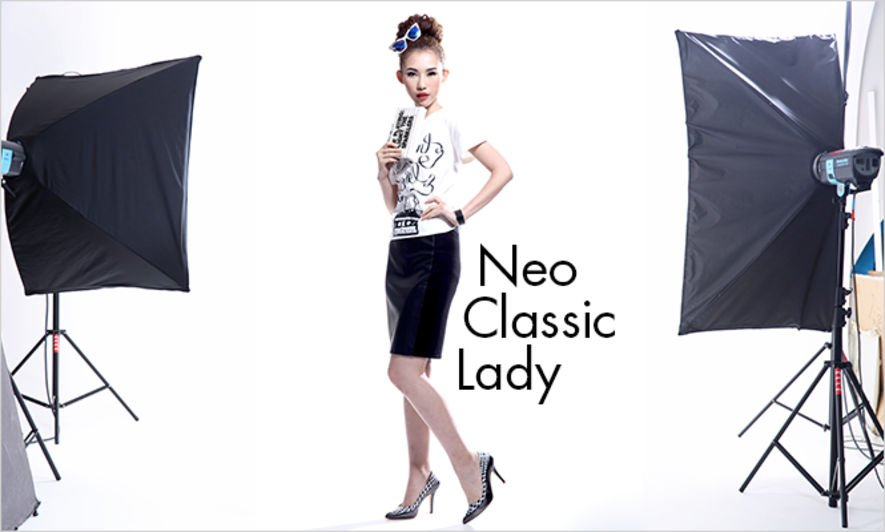 Styling Tips, Way to Wear a Graphic Tee, Classic Lady