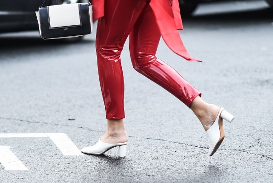 NYFW 40 Street Style Shoes