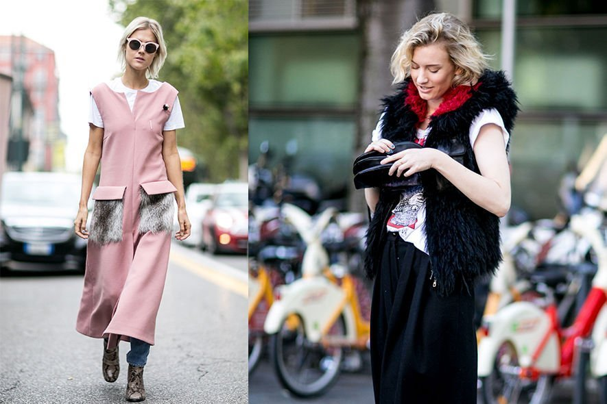 Street snap, 街拍, 時裝周, ELLEfie, SS16, Fashion week, T裇