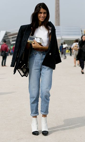 Paris Fashion Week ,	 Street Snap
