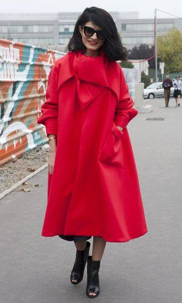 Red, Street Snap