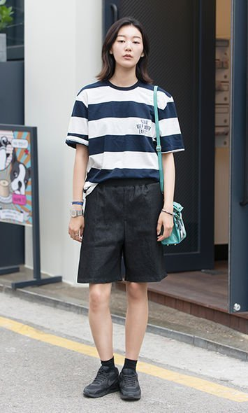 首爾街拍, seoul street snap, tee shirt, T裇, k fashion