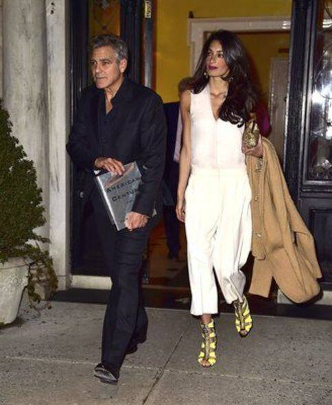 Amal Clooney, Fashion, style tips, 時裝, 穿搭