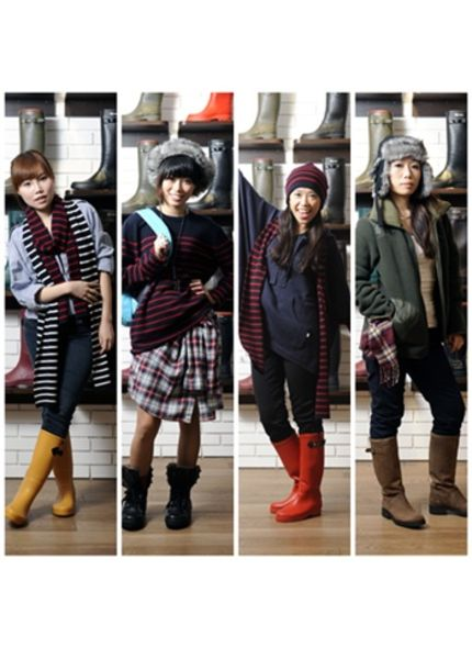 造型比賽:elle.com.hk x Aigle 14-Day Mix & Match Diary