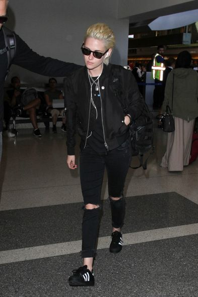 Kristen Stewart Superstar sneakers