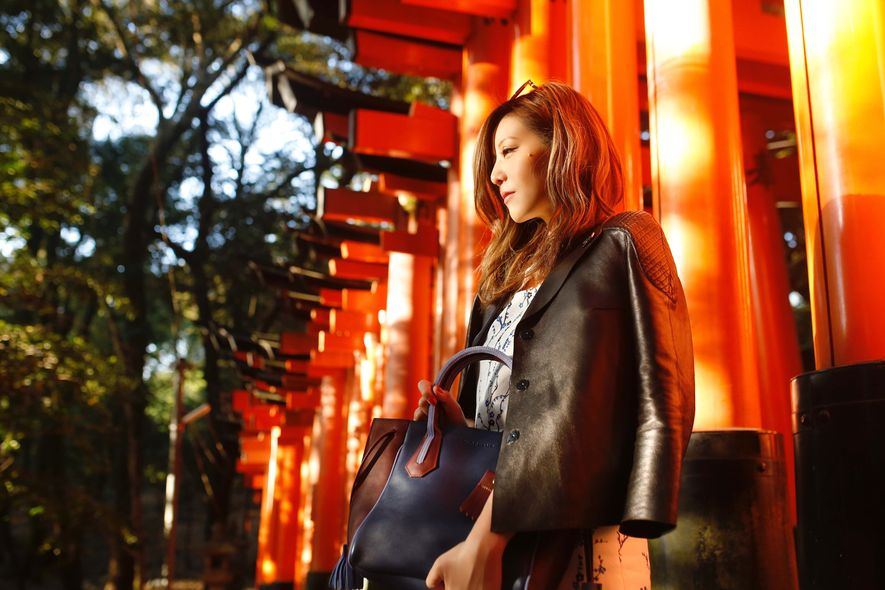 Karina Ha,ELLE Travel,Osaka,Longchamp