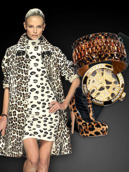 Exotic Leopard fashion trend style insight