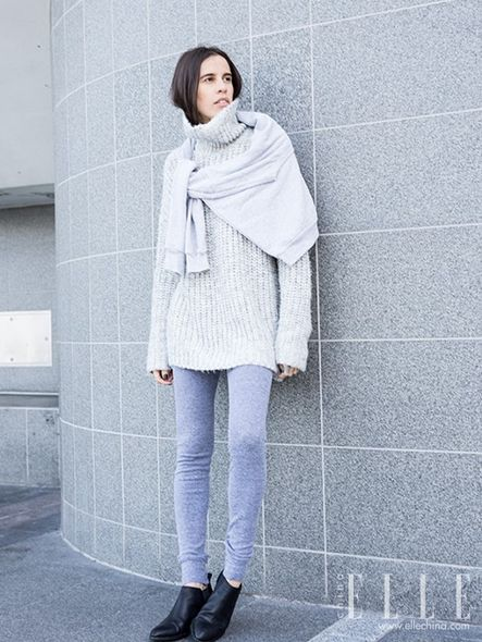 sweaters as scarf