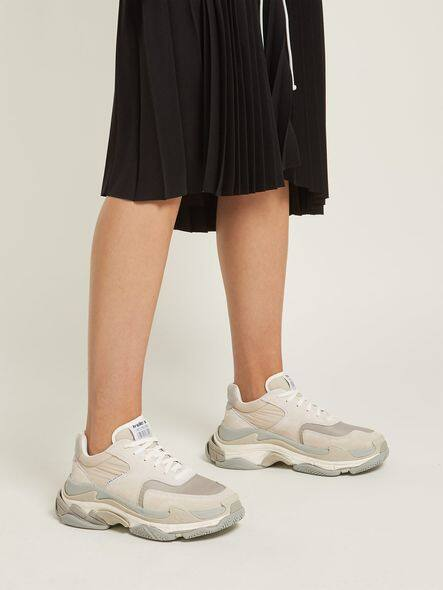 Triple S 波鞋 $7,500 from matchesfashion