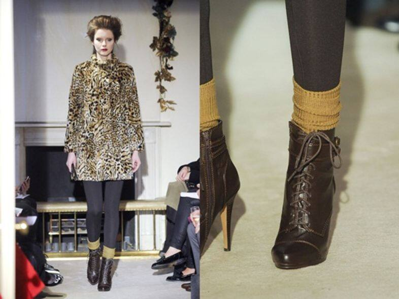 boots, socks, Fall Winter 2012 2013, mix and match, fashion accessories