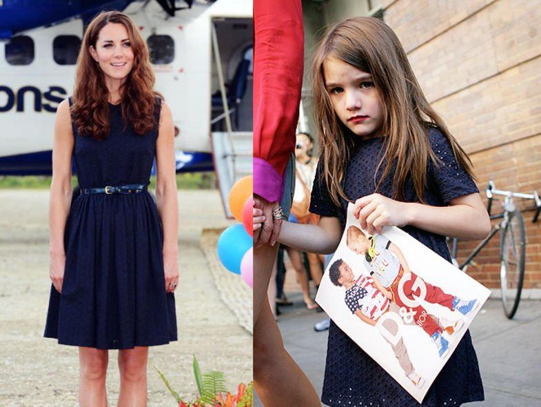Kate Middleton,Suri Cruise