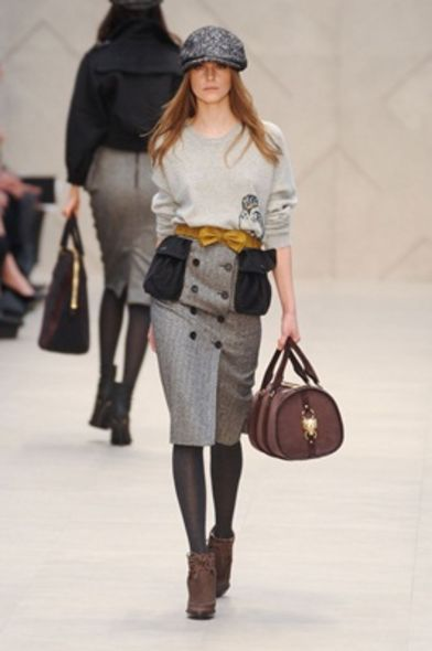 Fall Winter 2012, trend, burberry, Alexander Wang