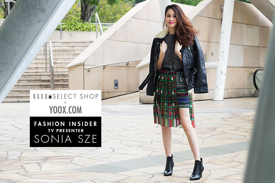 Yoox.com, Sonia Sze, 史澤雅, Fashion Insiders, ELLE Select Shop