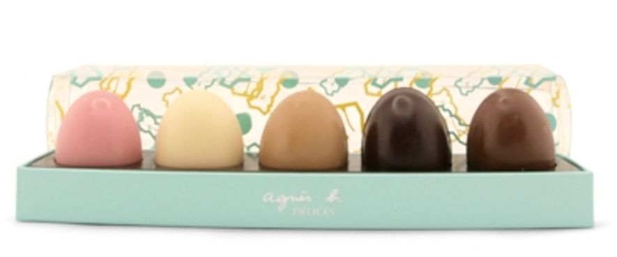 ((agnès b. DÉLICES) Lapin Easter Egg Gift Set $350
