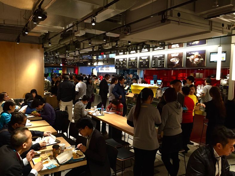 McDonald's Next, 金鐘, 海富, 麥當勞, 充電, Create Your Own