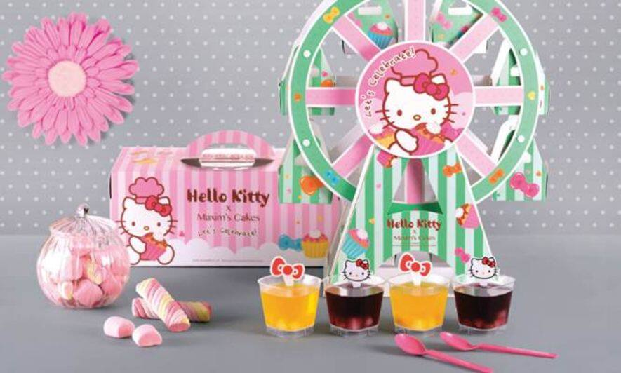Hello Kitty,My Melody,美心西餅