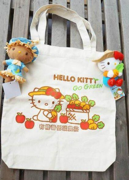 Hello Kitty 環保袋 $58 (不包公仔)