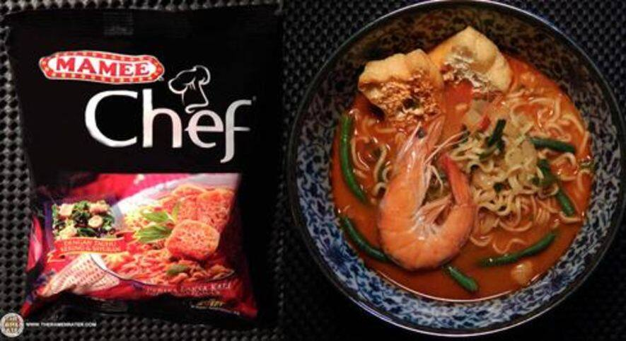 Mamee Chef Curry Laksa Flavour  – Malaysia