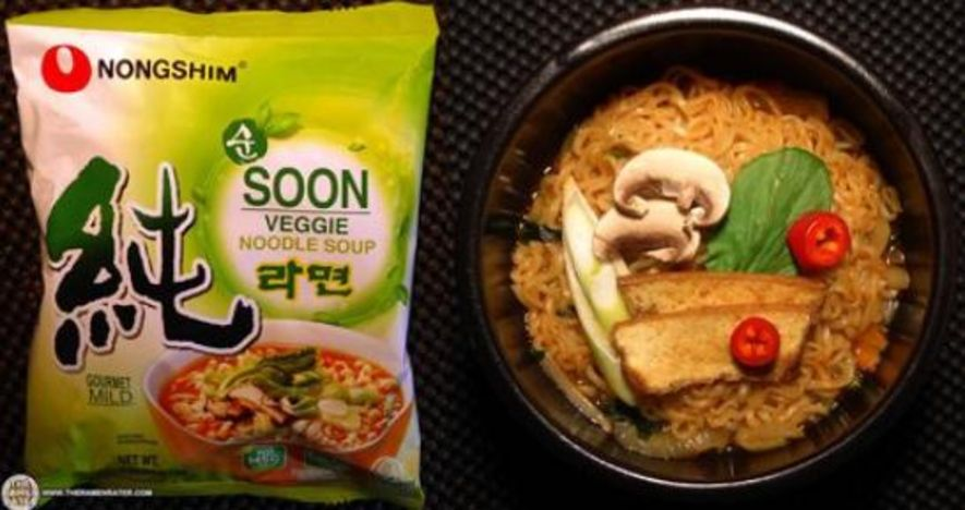 Nongshim Soon Veggie Noodle Soup – South Korea