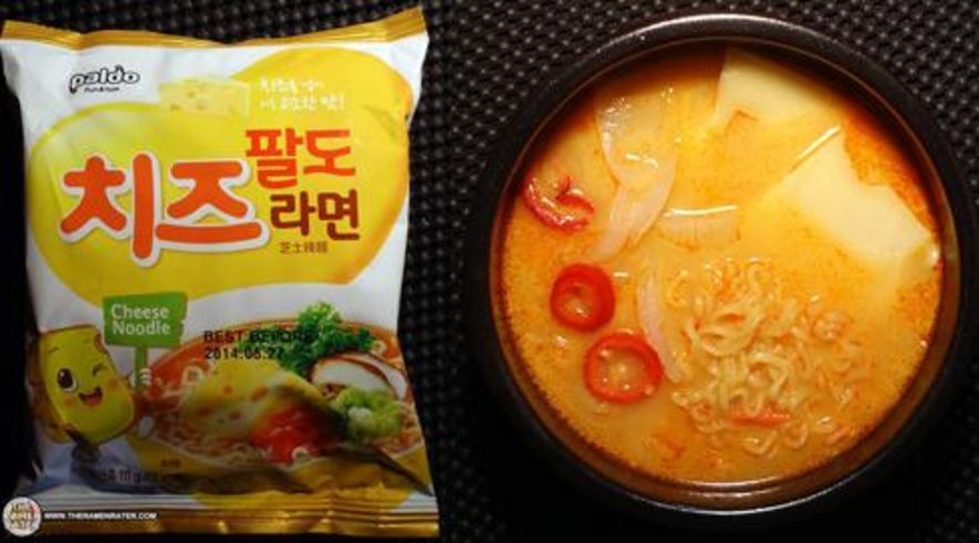 Paldo Cheese Noodle – South Korea