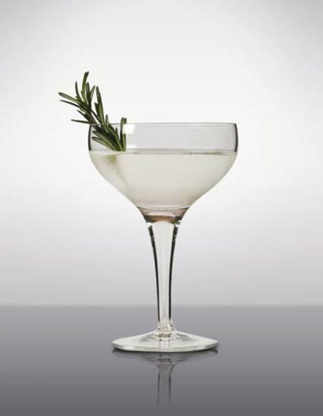 以迷迭香加入Snow Leopard Vodka 的「Conservation Martini」
