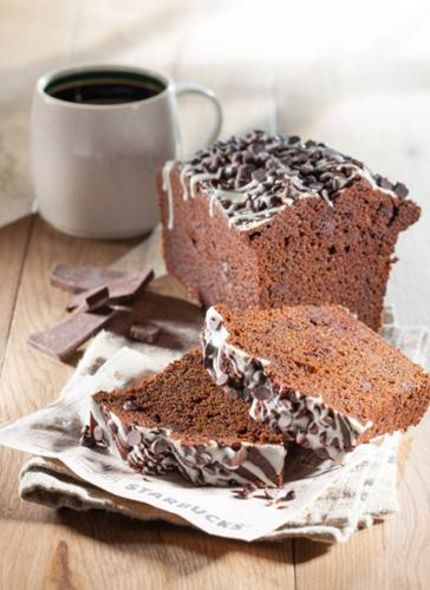 Double Chocolate Chip Loaf Cake 雙重碎朱古力蛋糕