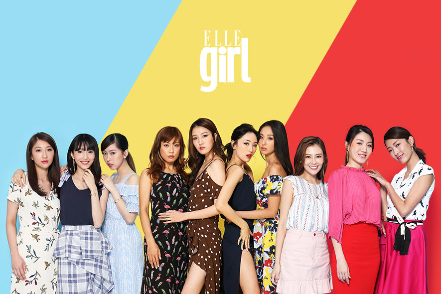 2018年度的十位ELLE Girls